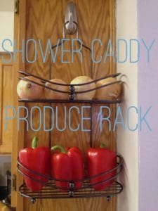Great way to create a container to hold produce