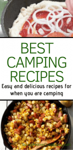Best camping recipes for your camping trip. Easy and delicious.