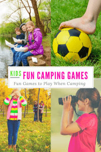 Fun Kids Camping Games