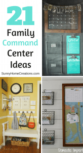 15 Brilliant Command Center Ideas that you will love! Some great ideas in here!