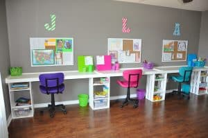 Kids Desks Homework Stations