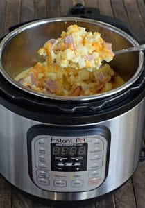Ham, Egg and Cheese Casserole Instant Pot Recipe