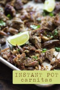 Instant Pot Carnitas Recipe