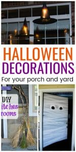 Halloween Decorations for your porch and yard