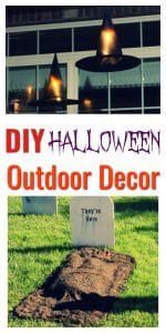 DIY Halloween Outdoor Decor