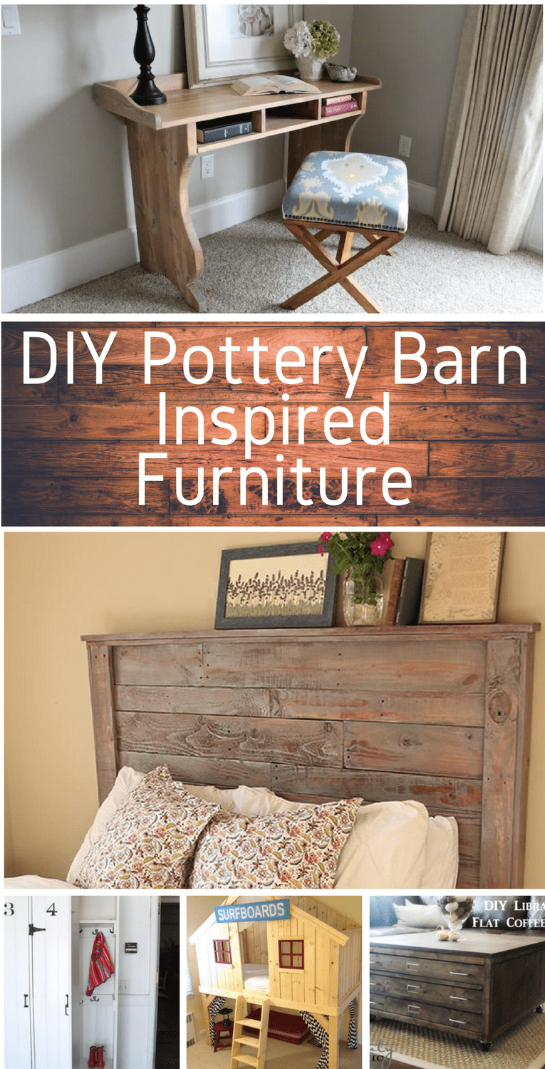 diy pottery barn inspired furniture sunny home creations
