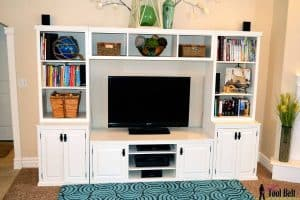 DIY Pottery Barn Media Center
