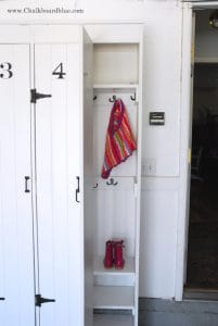 Pottery Barn DIY Lockers