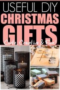Useful DIY Christmas Gifts - cute, creative & Fun!