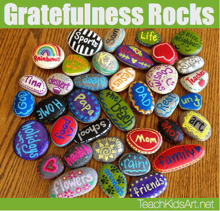 Gratitude Rocks activity