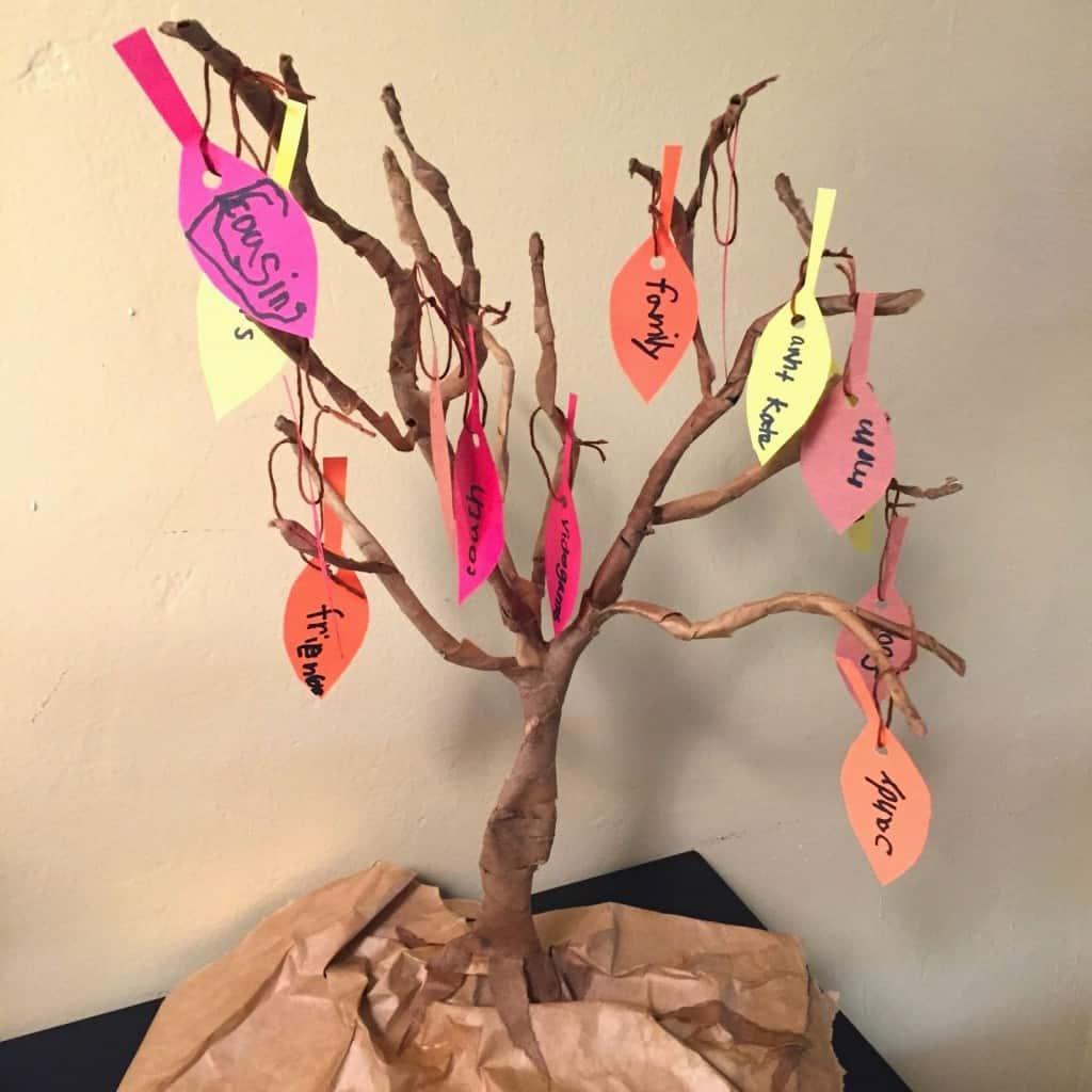 Gratitude Activities Gratitude Tree
