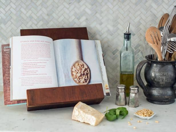 Cookbook or tablet stand homemade Christmas gift