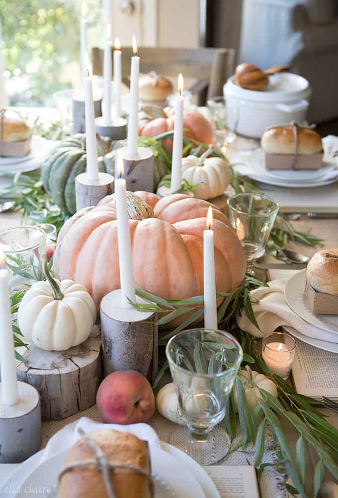 Fall Tablescape Ella Claire