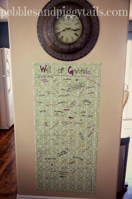 Thanksgiving Gratitude Activities Gratitude Wall