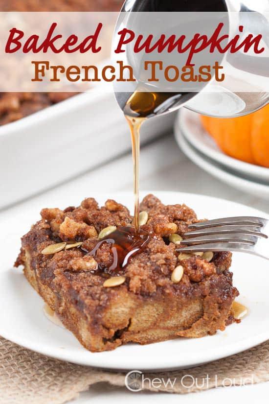 overnight breakfast casserole french toast