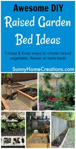 Awesome Raised Garden Bed Ideas. I really like some of the ideas here. There are some made out of materials other than wood, such as cobblestones and corrugated metal.