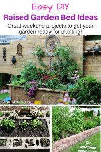 Easy DIY Raised Garden Bed Ideas.