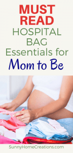 Hospital Bag Essentials for Mom to Be