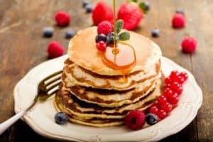pancake camping breakfast