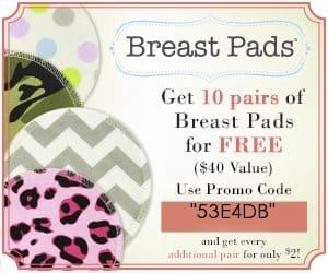 Free nursing breast pads