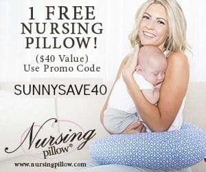 Free nursing pillow coupon
