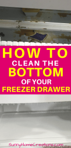 How to Clean the Bottom of Your Freezer Drawer