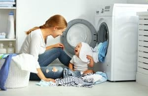 Fold and put laundry away right away for a cleaner house