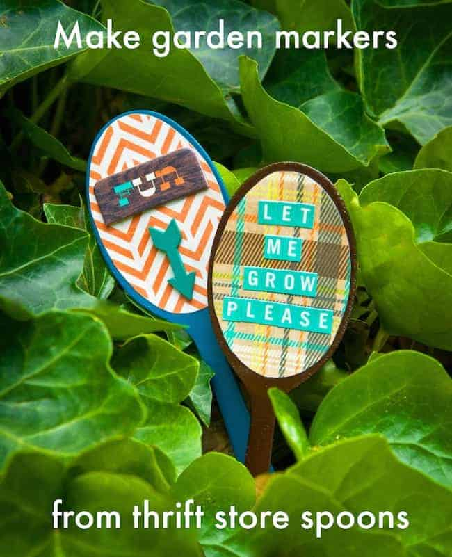 Spoon DIY Garden Marker