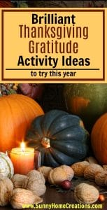 Brilliant Thanksgiving Gratitude Activity Ideas to try this year!