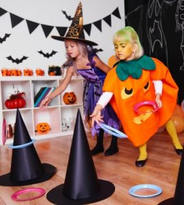 Witch Hat Ring Toss Game