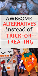 alternatives to trick or treating