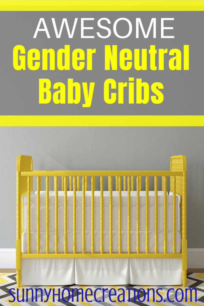 Awesome gender neutral baby cribs